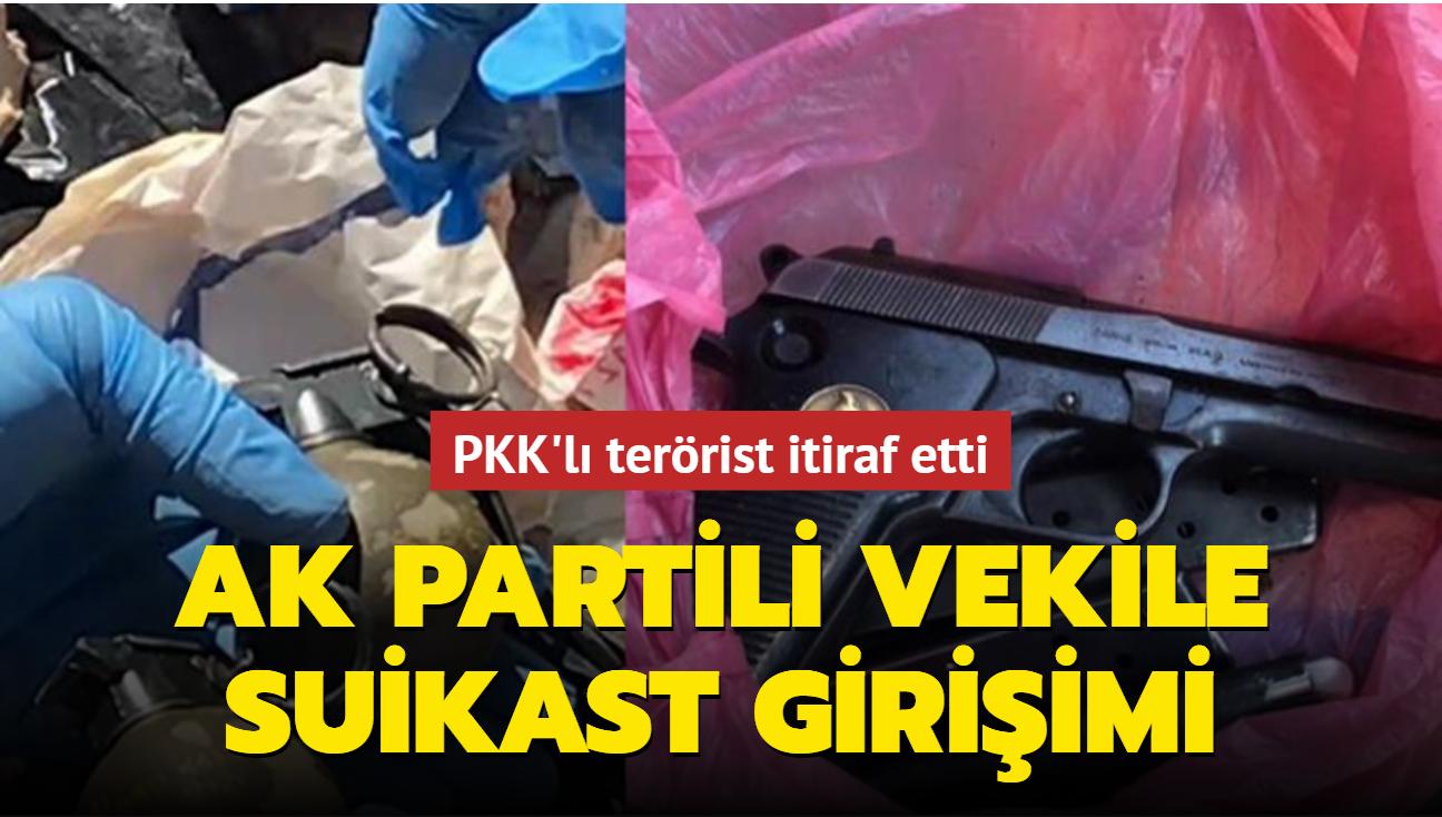 AK Partili vekil ve kardeşine suikast girişimi önlendi