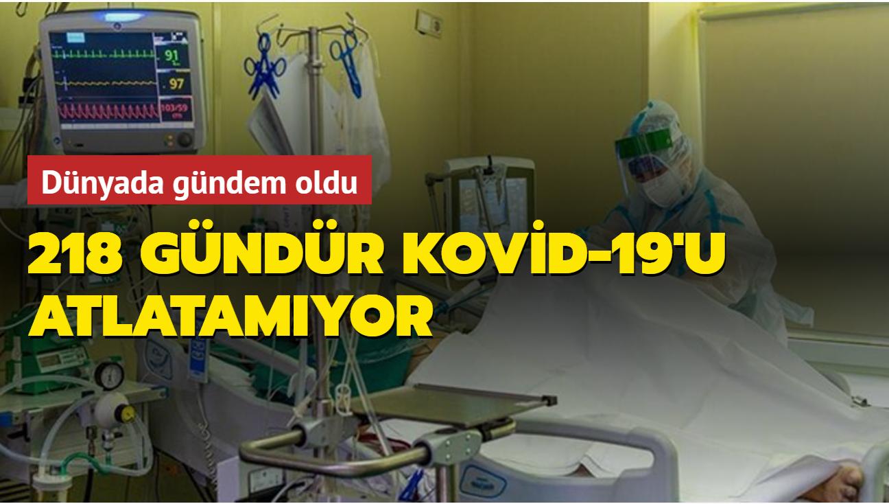 Dünyada gündem oldu: 218 gündür Kovid-19'u atlatamıyor