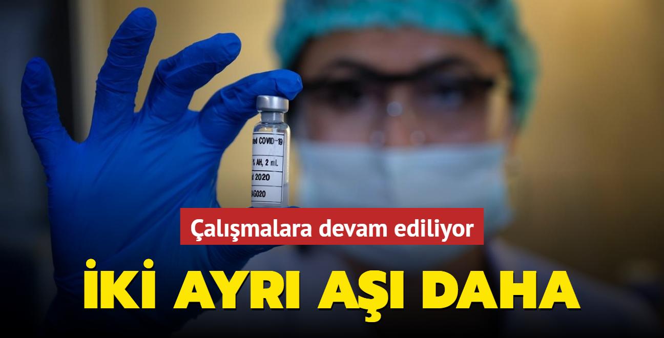 Konya Selçuk Üniversitesi iki ayrı aşı çalışması yürütüyor
