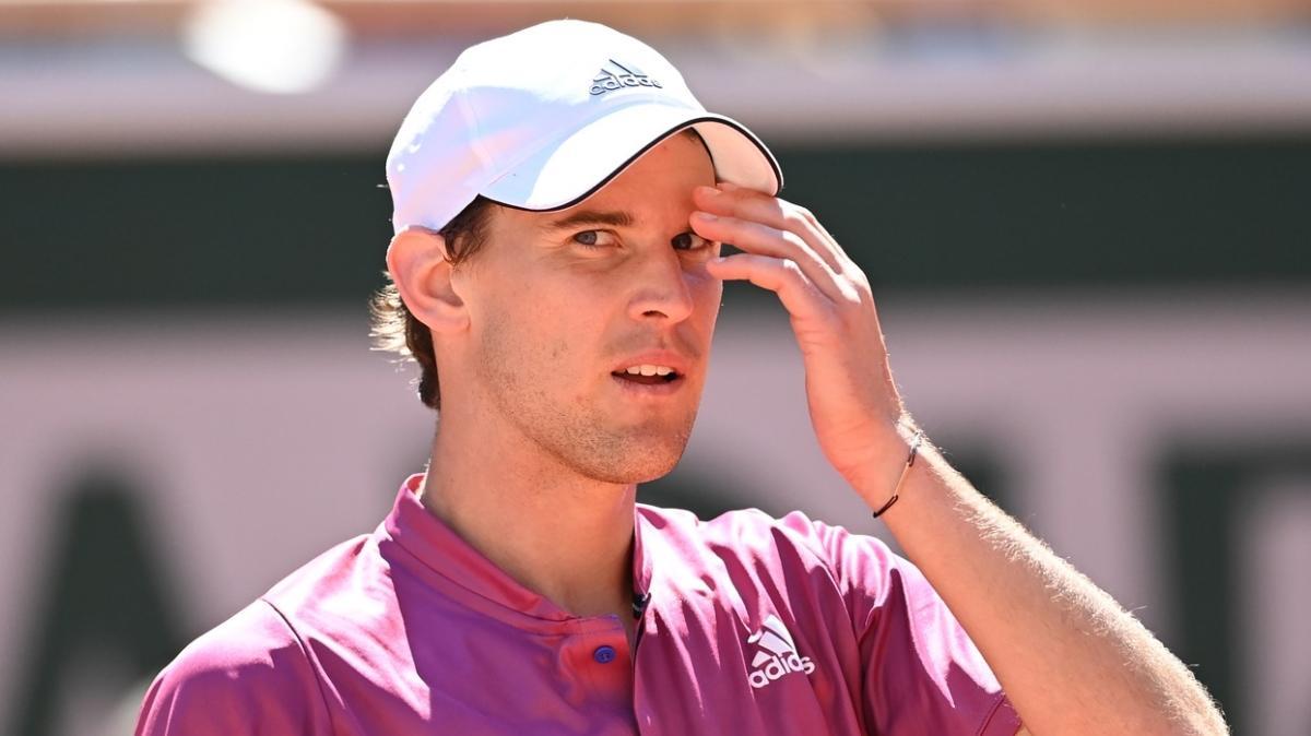 Dominic Thiem, Wimbledon'dan çekildiğini açıkladı