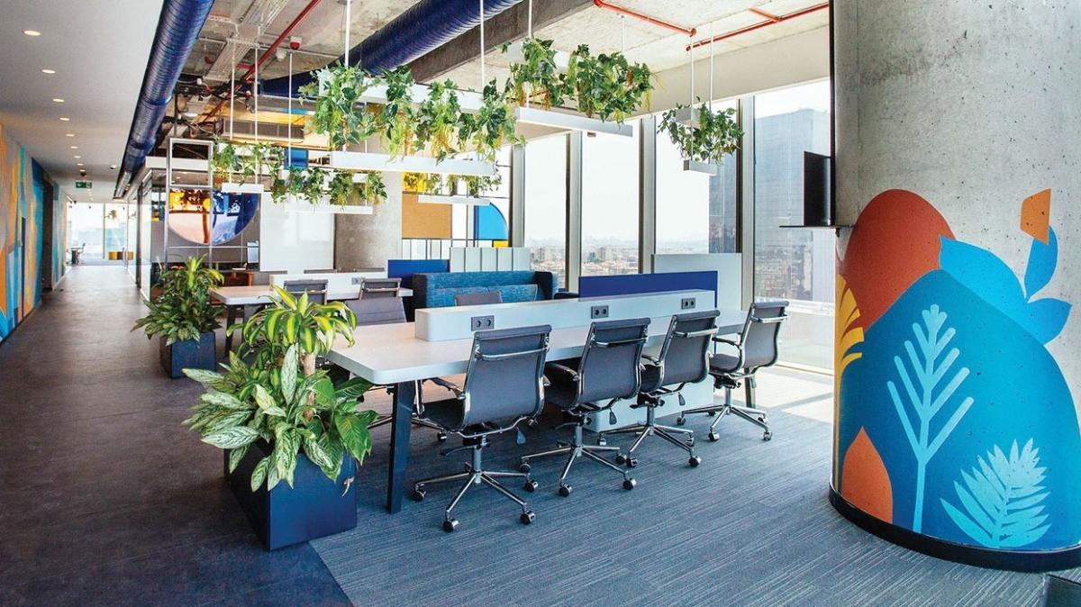 Şirketler 'esnek ofis'e sıcak bakıyor