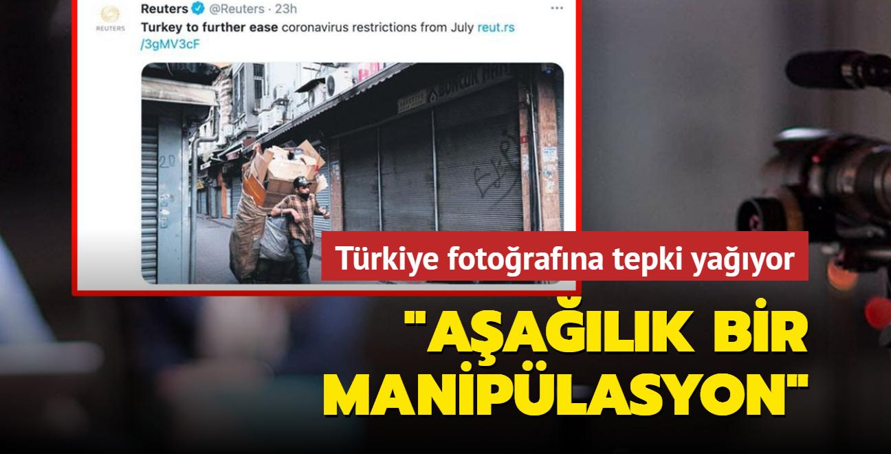 Reuters'ın Türkiye manipülasyonuna tepki yağdı