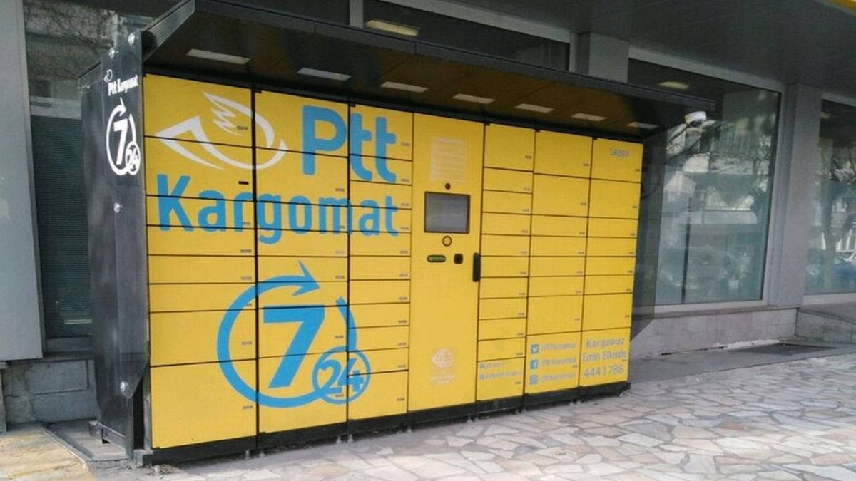 PTT'den Kargomat ile 24 saat hizmet