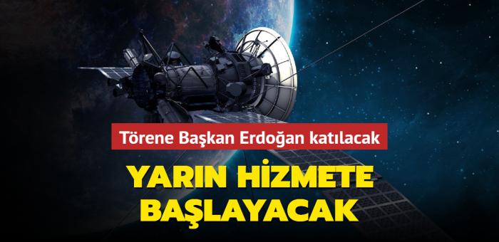 Türksat 5A yarın hizmet vermeye başlayacak