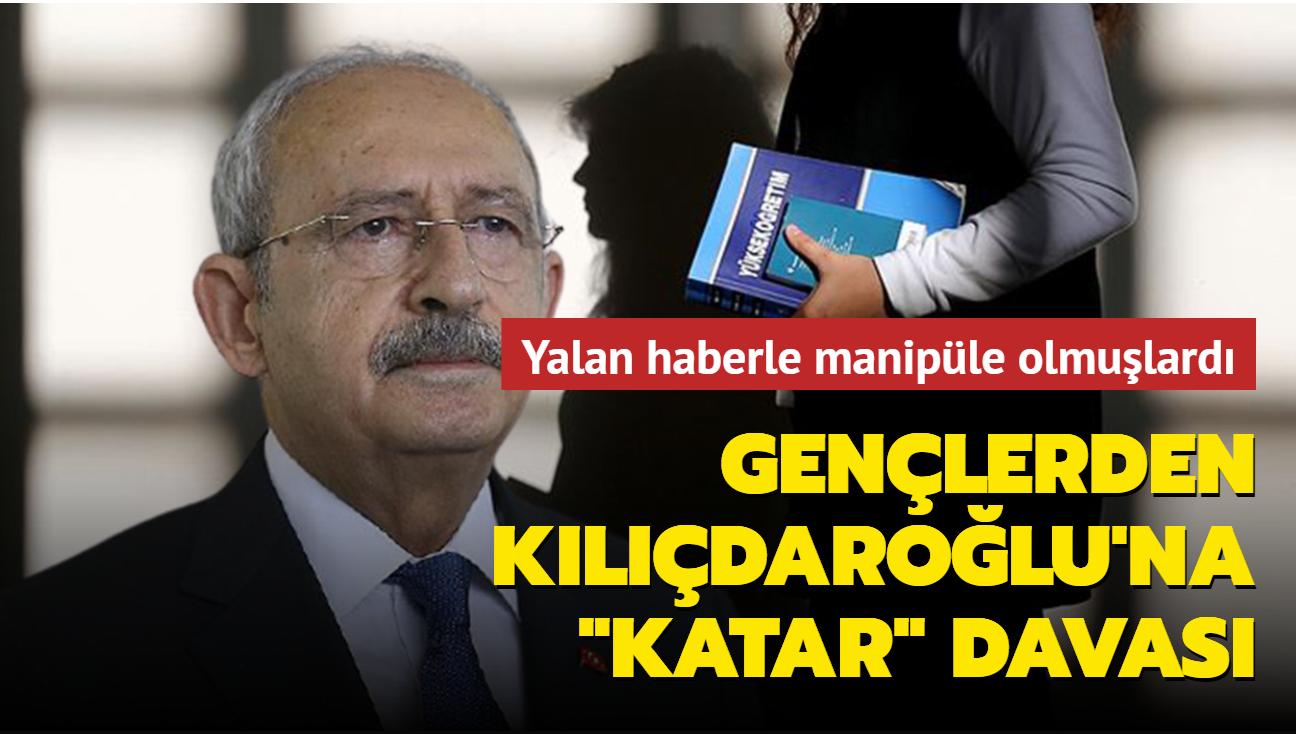 Gençlerden Kılıçdaroğlu'na 1 liralık tazminat davası
