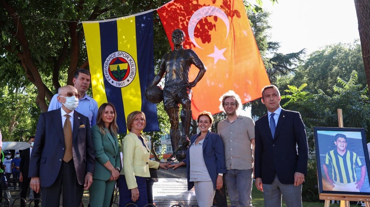 Ali Koç, Can Bartu heykelinin açılış töreninde futbolculara seslendi: futbolculara seslendi: Artık bu formanın hakkını vermenin zamanı geldi