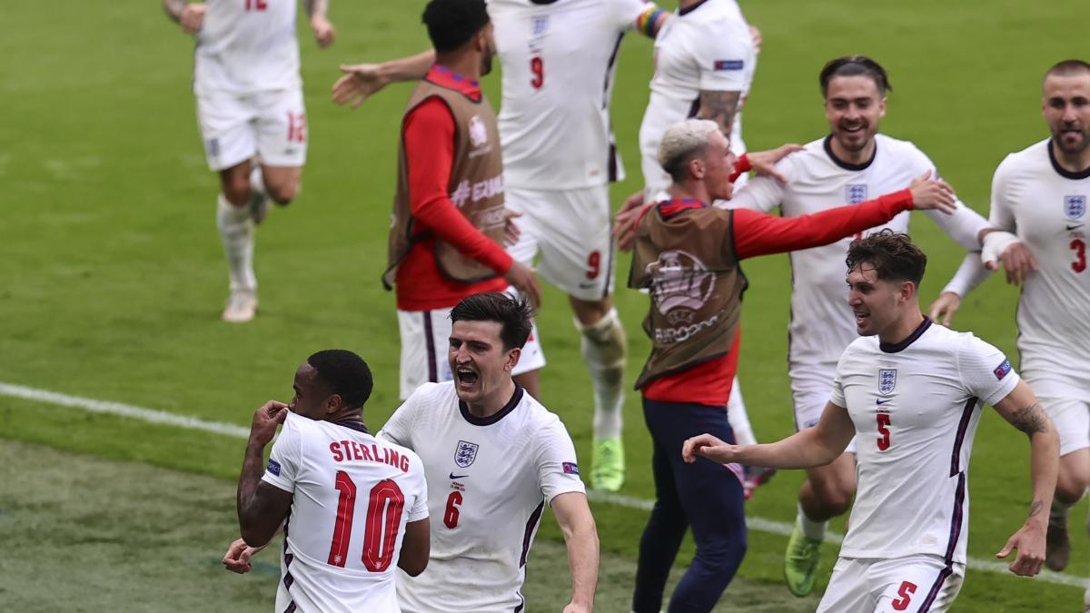 EURO 2020: Dev maçta İngiltere, Almanya'yı saf dışı bıraktı