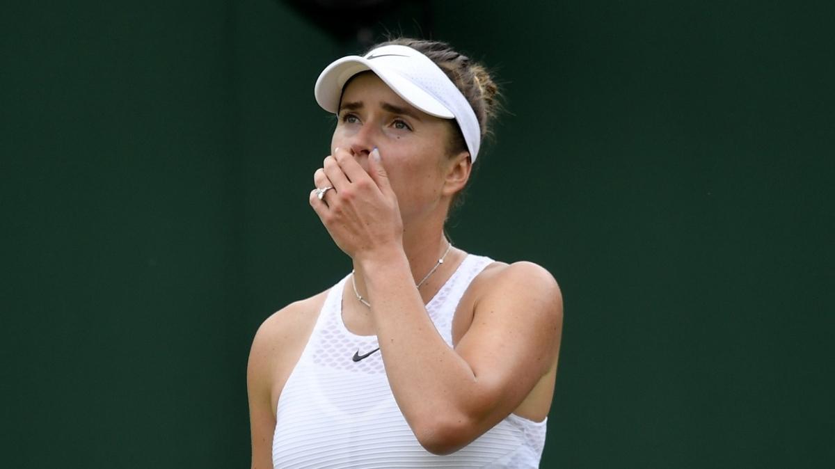Wimbledon'da sürprizler sürüyor! Elina Svitolina da elendi
