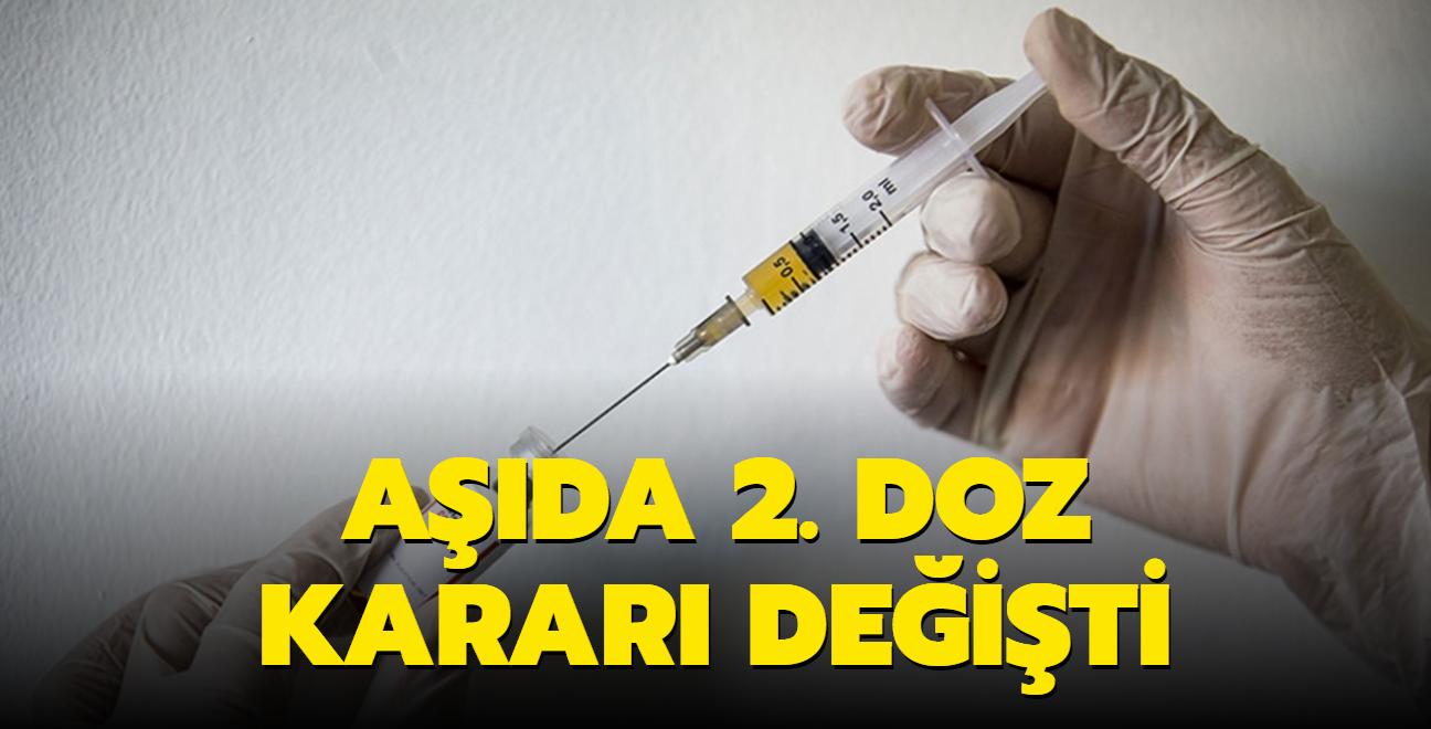 Kovid geçirenlere 2. doz aşı geri döndü