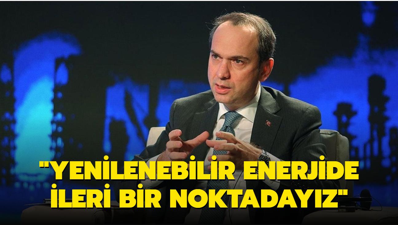 """Enerji ve Tabii Kaynaklar Bakan Yardımcısı Bayraktar açıkladı: """"Oldukça ileri bir noktadayız"""""""