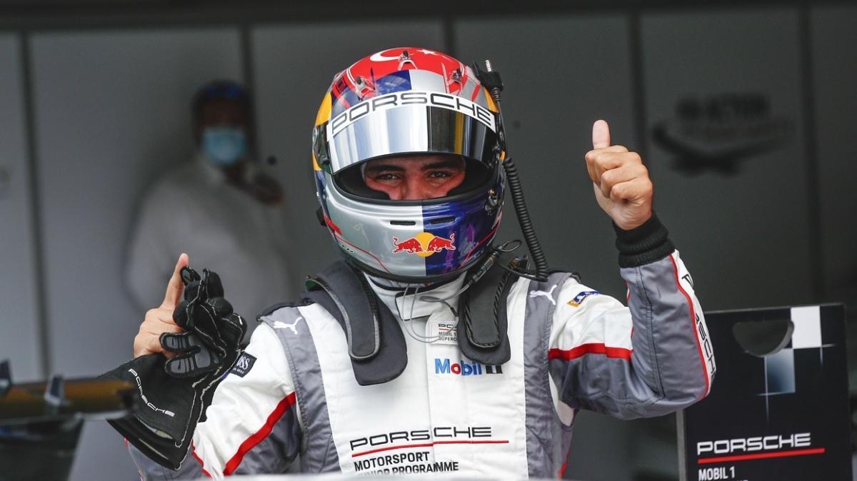 Ayhancan Güven ikinci yarışta zirveyi kaptı