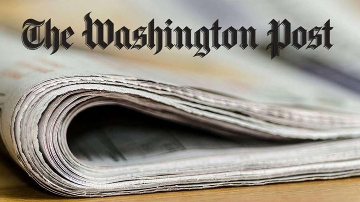 Washington Post'ta tam sayfa 15 Temmuz ilanı