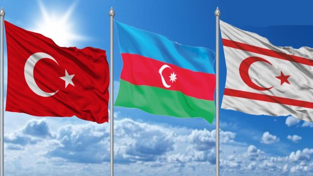 """Azerbaycan Milli Meclisi ilk kez KKTC'de resmi temaslarda bulundu:  """"Türkiye'nin gücü, Azerbaycan ve KKTC'nin gücüdür"""""""