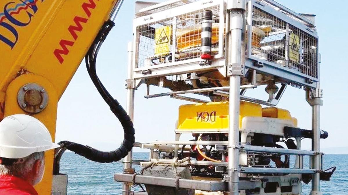 BOTAŞ'ın Marmara'daki bakım çalışması tam gaz
