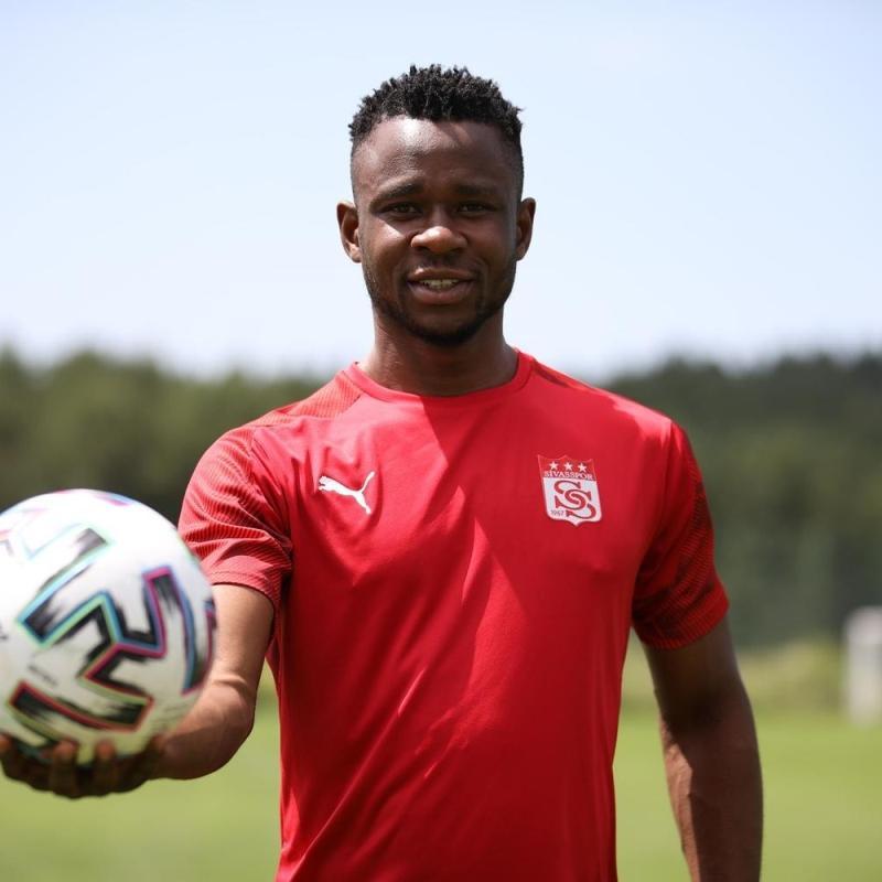 Yeni Sivassporlu Leke Samson James: Azimli ve istekliyim