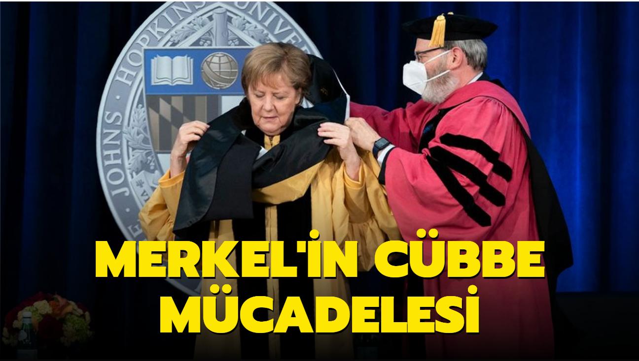Merkel'in cübbe mücadelesi