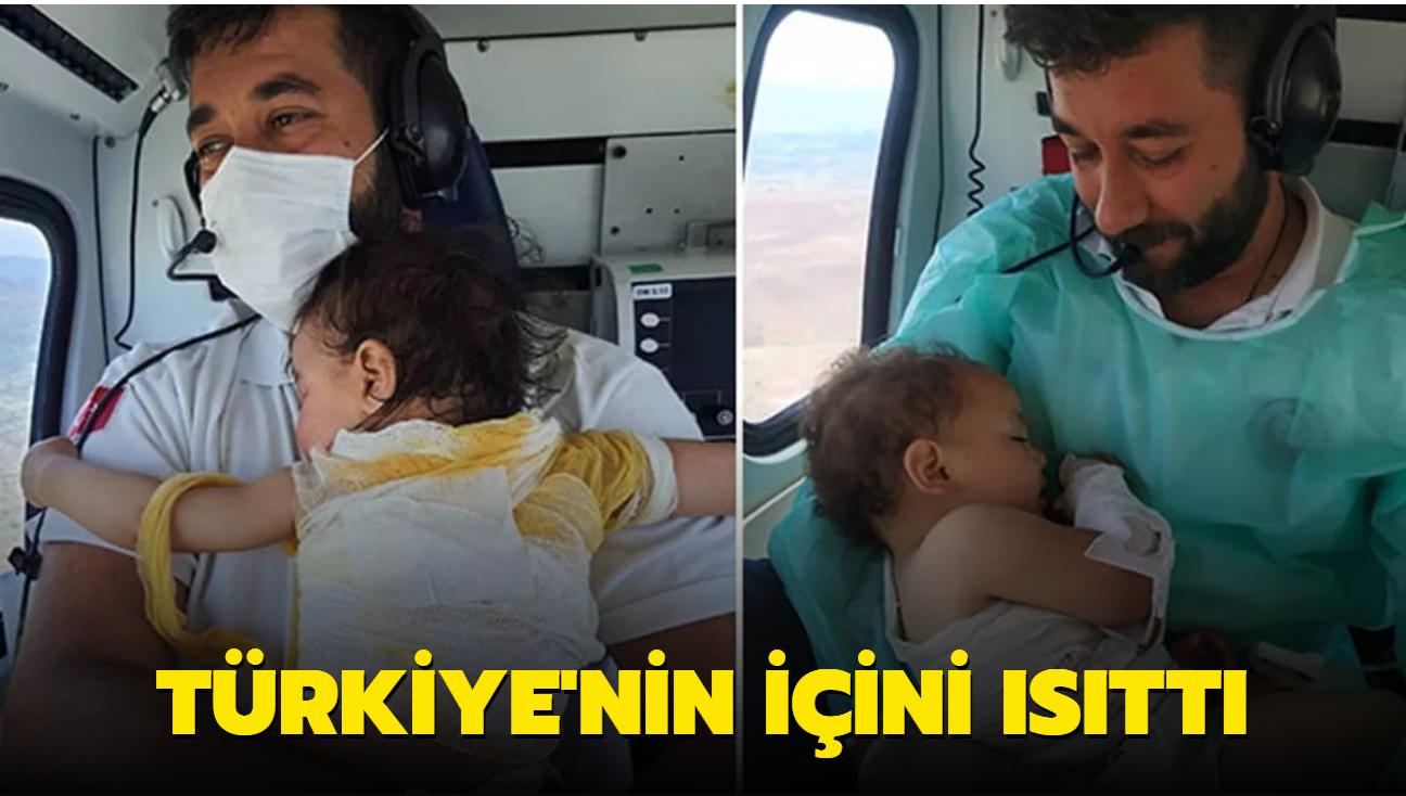 Türkiye'nin içini ısıttı... Beril bebekten sonra bu kez Zeynep bebek, o sağlıkçının kucağında