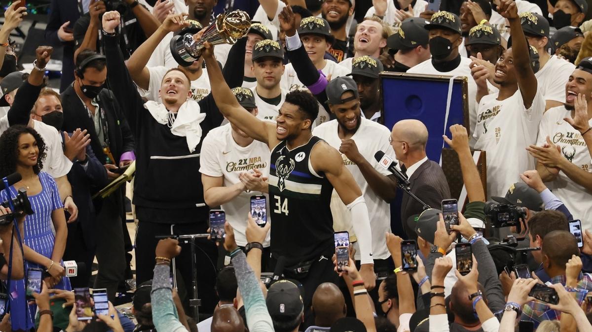 NBA'de 50 yıl sonra gelen zafer! Şampiyon Milwaukee Bucks