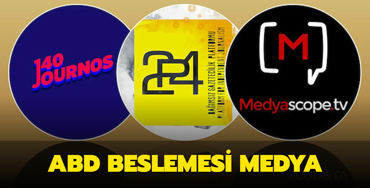 ABD'li vakıf Türkiye'de fonladığı basın kuruluşlarının listesini yayımladı... İşte ABD beslemesi medya