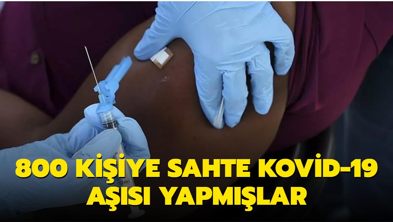 Afrika ülkesinde skandal... Yüzlerce kişiye sahte koronavirüs aşısı yapıldı