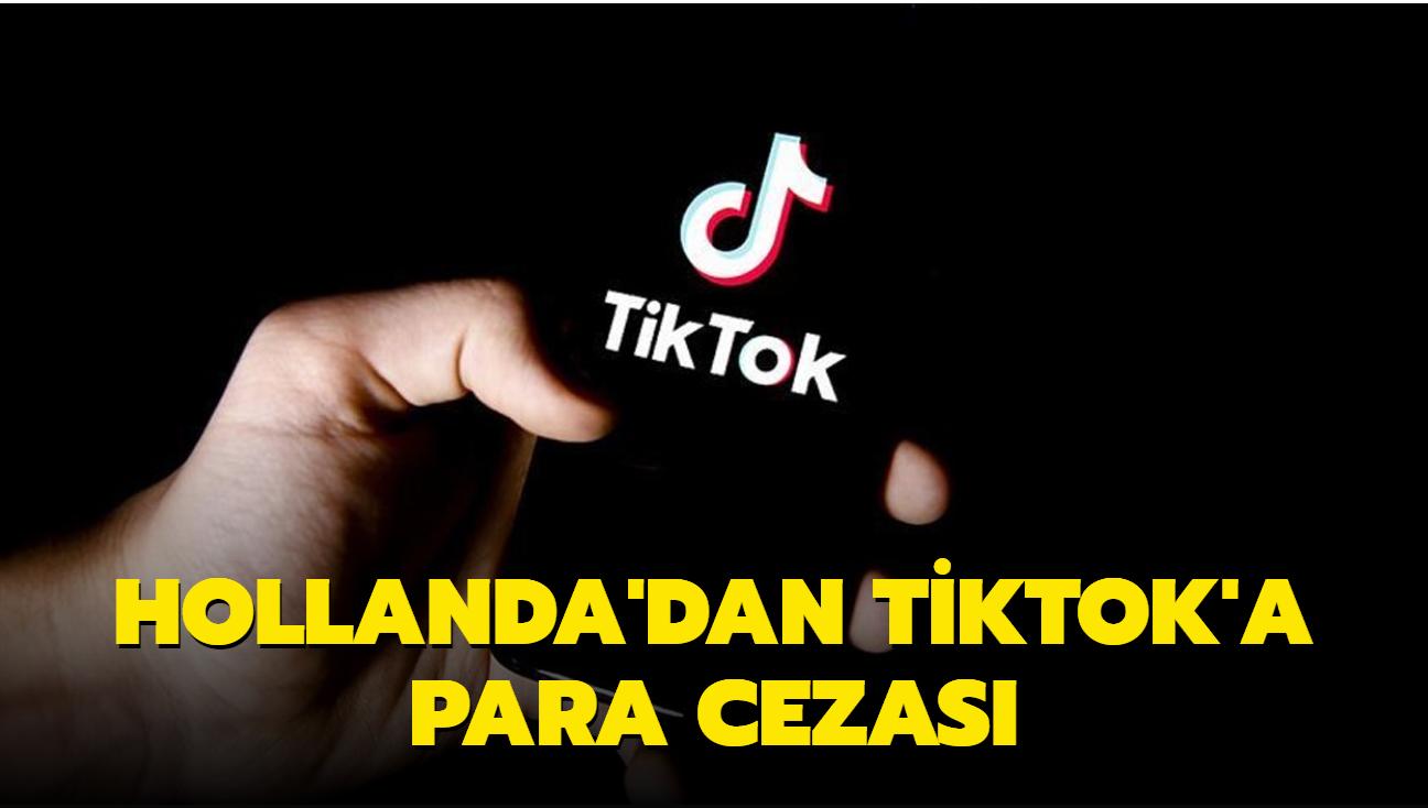 Hollanda'dan TikTok'a para cezası