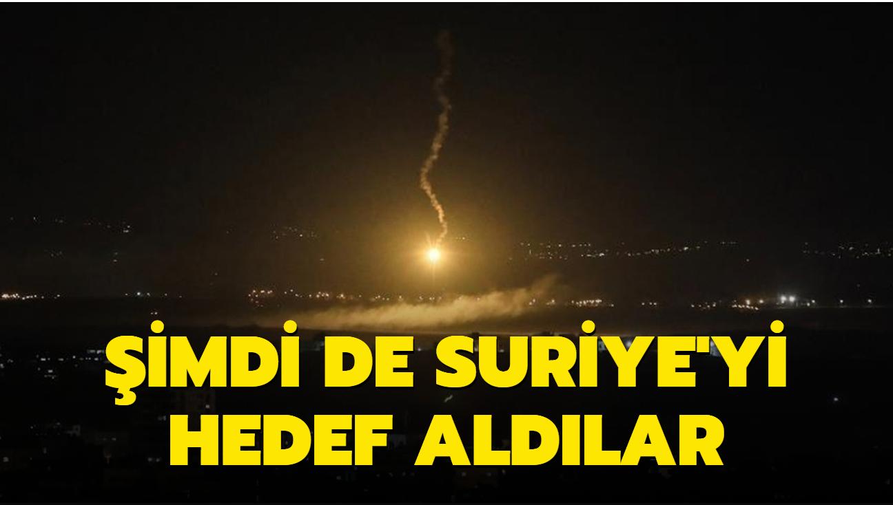 İsrail füzeleri şimdi de orayı hedef aldı