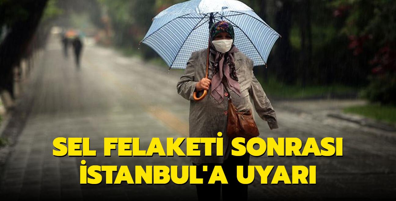 Meteoroloji'den İstanbul, Kocaeli, Sakarya ve Yalova için sağanak yağış uyarısı