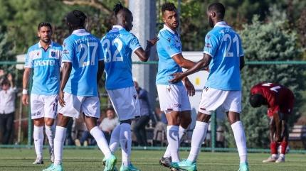 Trabzonspor Bandırmaspor maçını tek golle kazandı