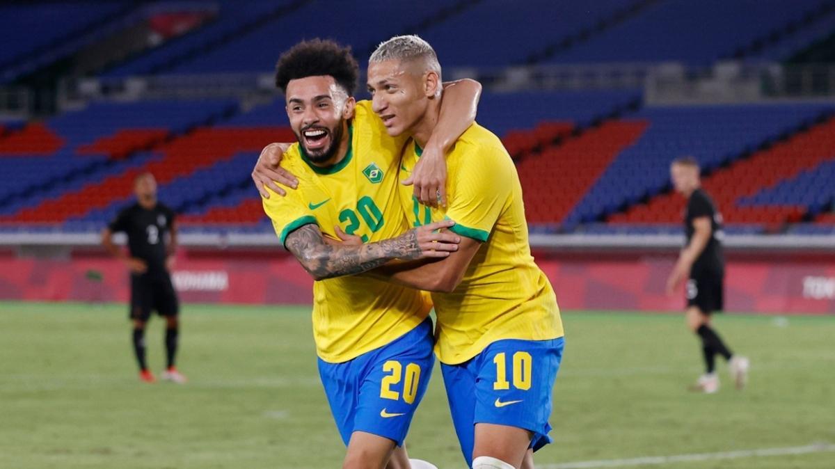 2020 Tokyo Olimpiyatları'nda Brezilya, Almanya'yı 4-2 mağlup etti