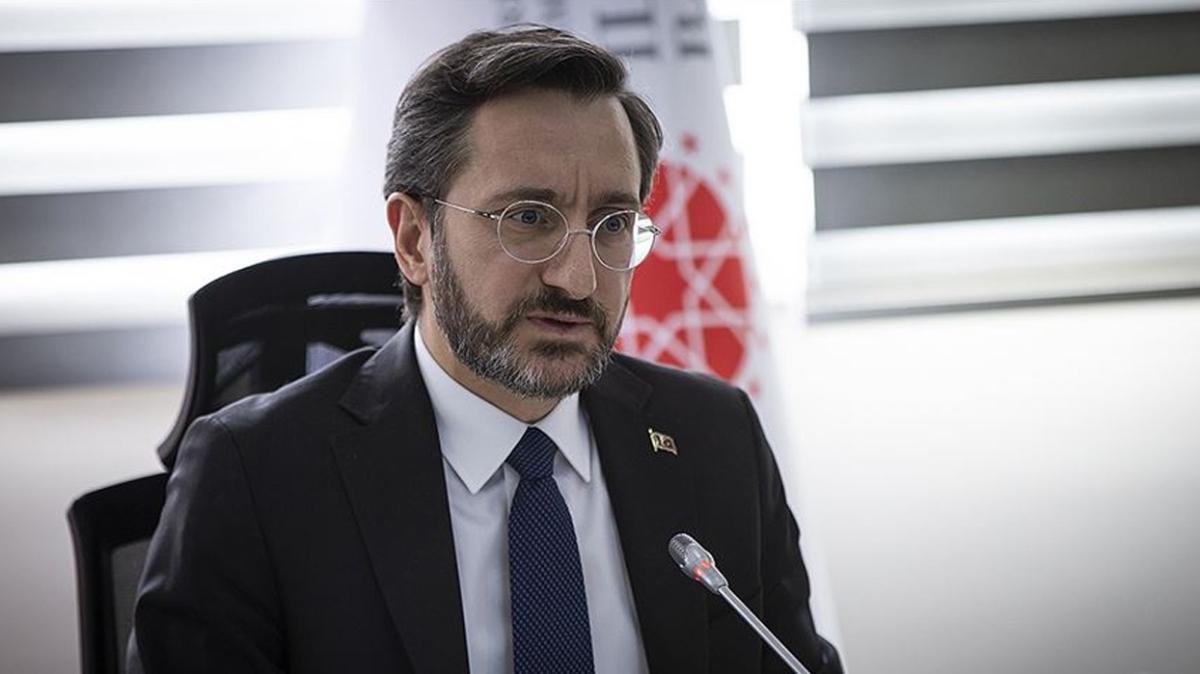 İletişim Başkanı Fahrettin Altun'dan Habertürk'e tepki