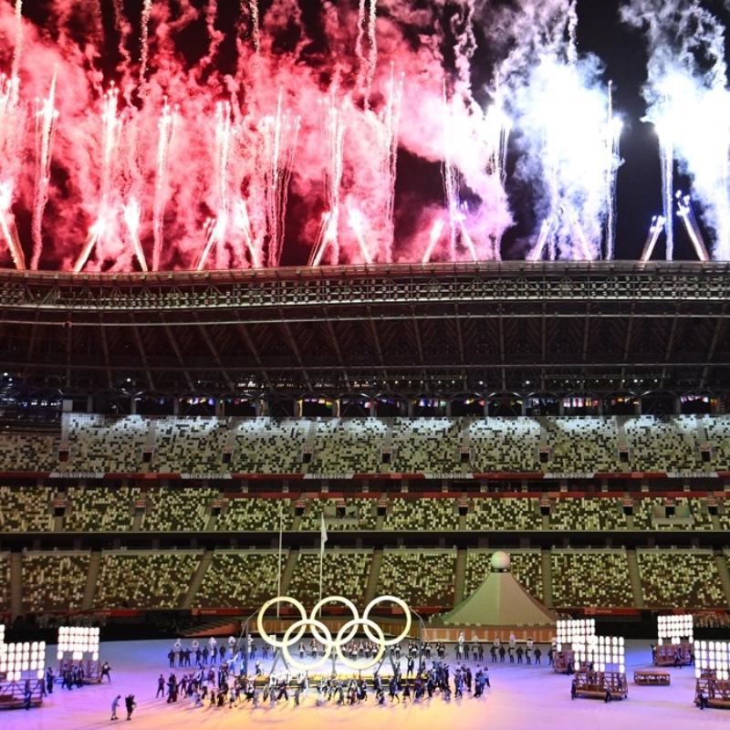 2020 Tokyo Olimpiyatları açılış töreni büyüledi