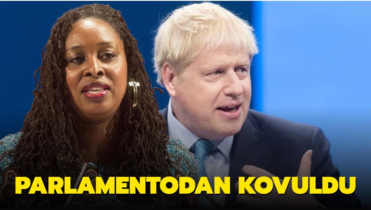 """Boris Johnson'ı """"yalancılıkla"""" suçlayan milletvekili, parlamentodan kovuldu"""