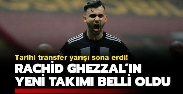 Rachid Ghezzal transferinin galibi belli oldu