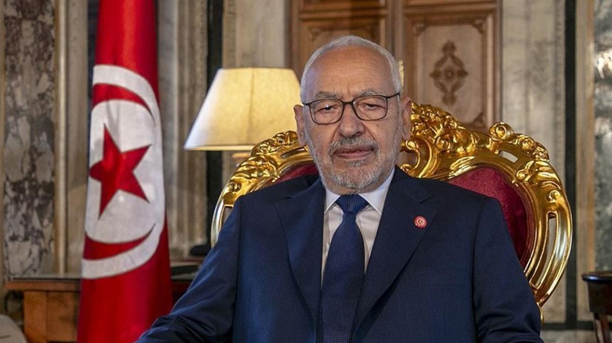 Tunus Meclis Başkanı Gannuşi koronavirüsü yendi