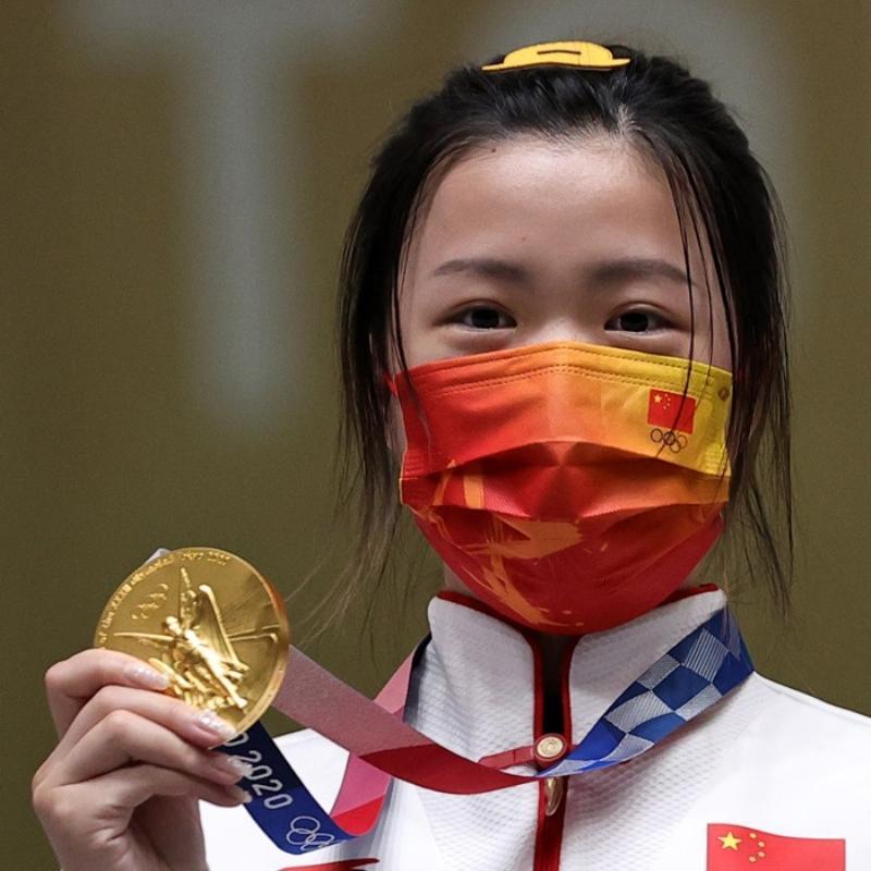2020 Tokyo Olimpiyatları'nda ilk altın madalya sahibini buldu