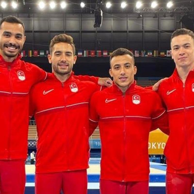 Bravo çocuklar! Cimnastikçilerimiz Tokyo'da tarih yazdı