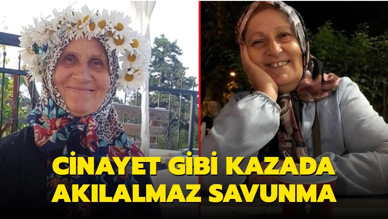 İki kadını ezen Emekli Albay'dan tepki çeken savunma: Otostop çekiyorlardı, intihar ettiler