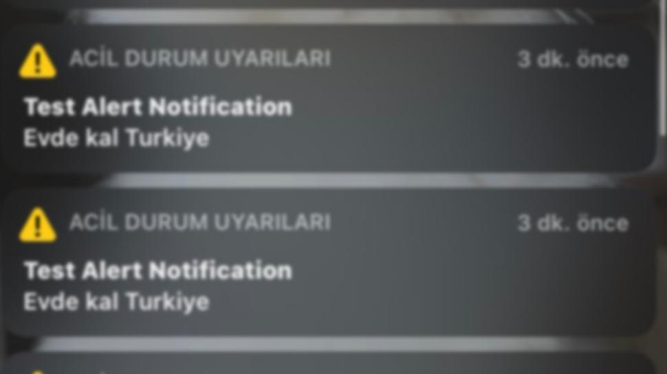 'Evde kal Türkiye' alarmı sosyal medyada gündem oldu