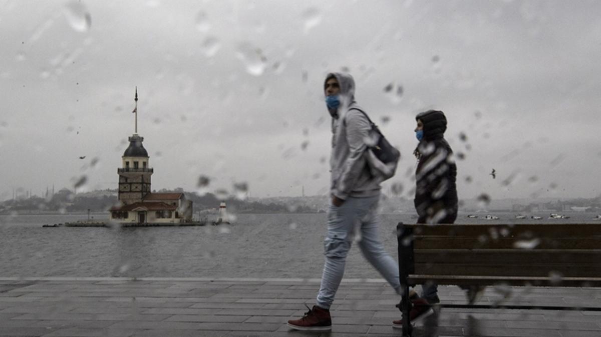 İstanbul'da yağmur vatandaşları hazırlıksız yakaladı