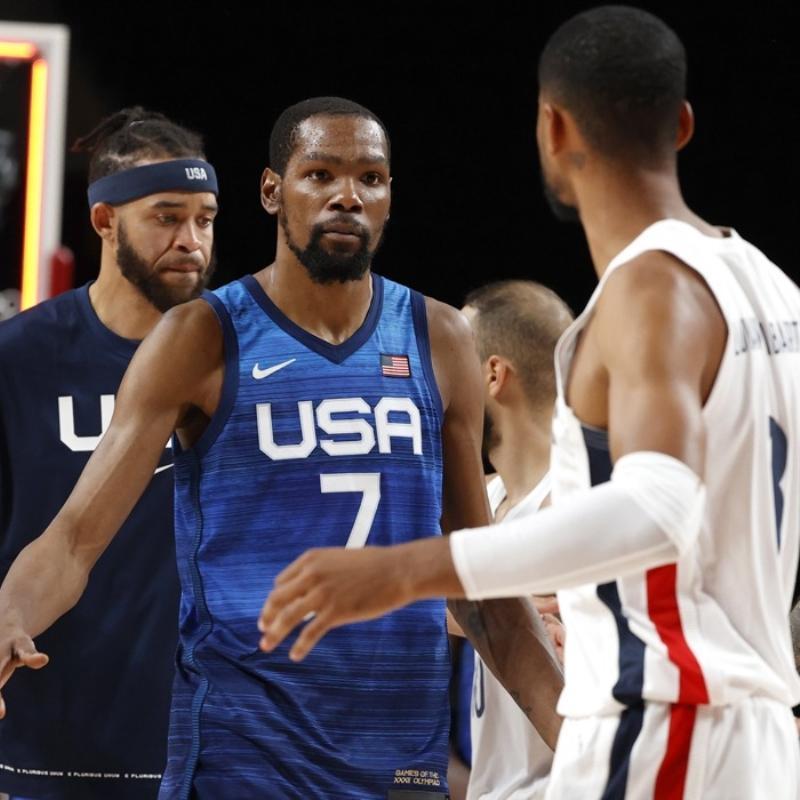 ABD basketbolda olimpiyatlara Fransa yenilgisiyle başladı