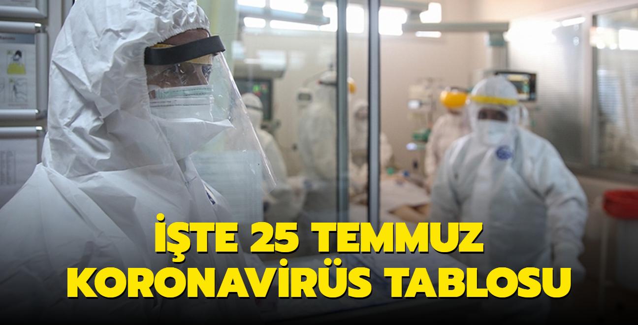 Sağlık Bakanı Koca, Kovid-19 salgınında son durumu açıkladı... İşte 25 Temmuz 2021 koronavirüs tablosu