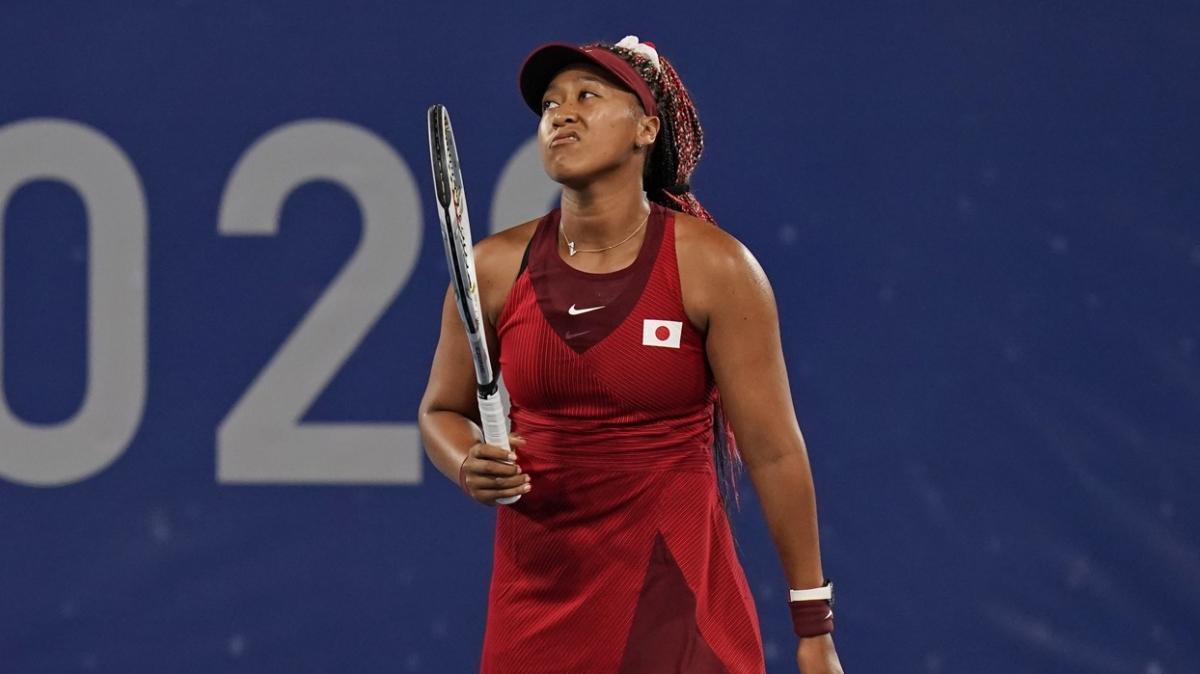 Naomi Osaka'dan olimpiyatlara erken veda