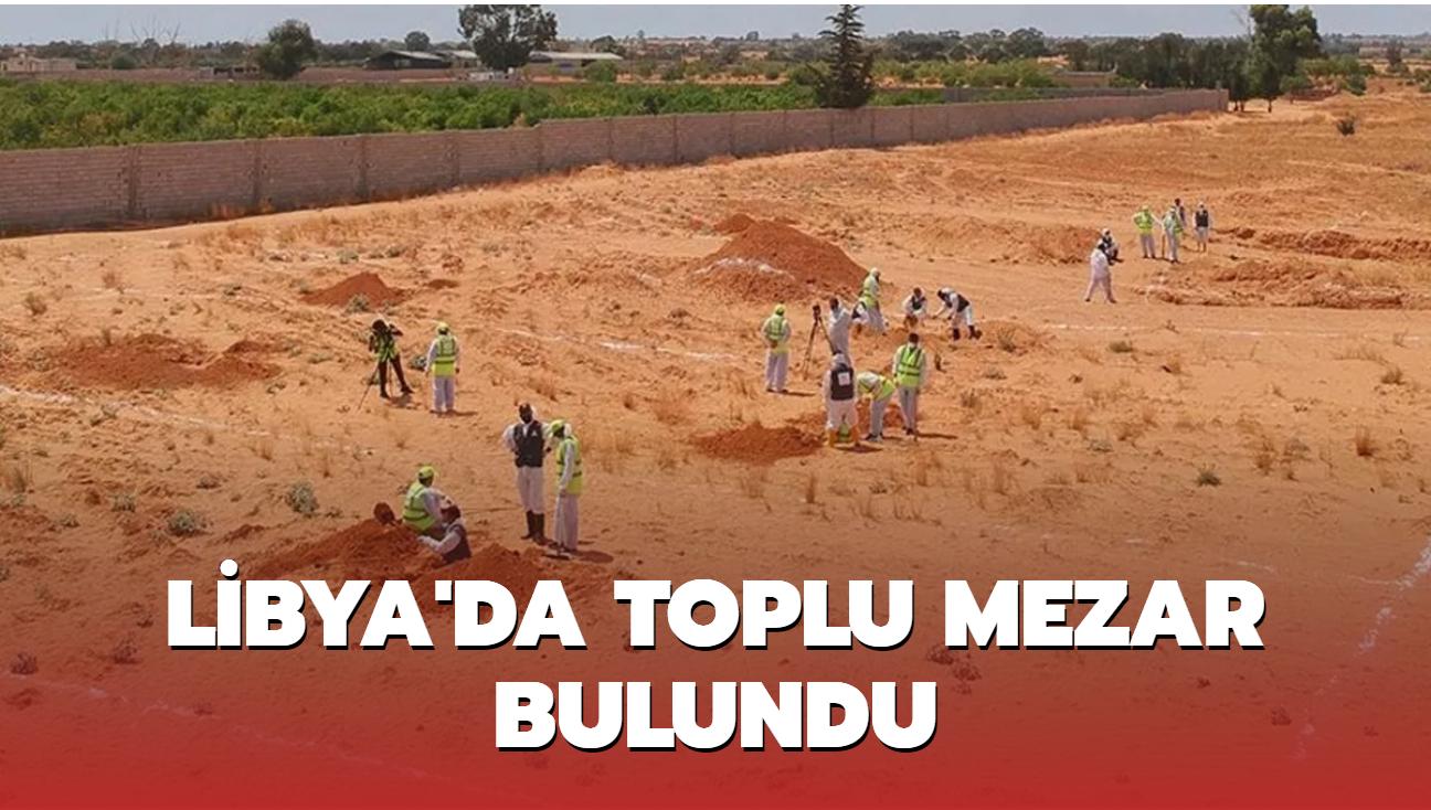 Libya'nın Terhune kentinde toplu mezar bulundu