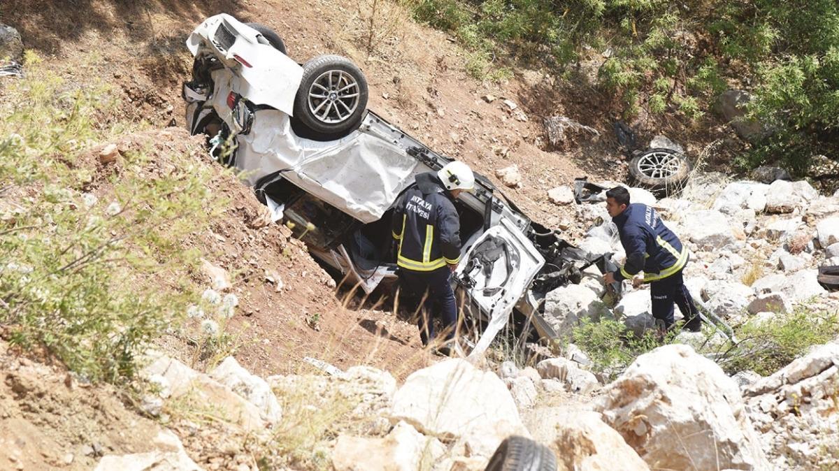Doktor çifti kaza ayırdı