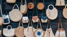 Stili güçlendiren hasır çanta modelleri