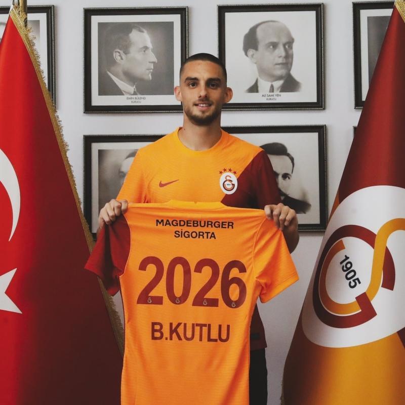 Berkan Kutlu resmen Galatasaray'da