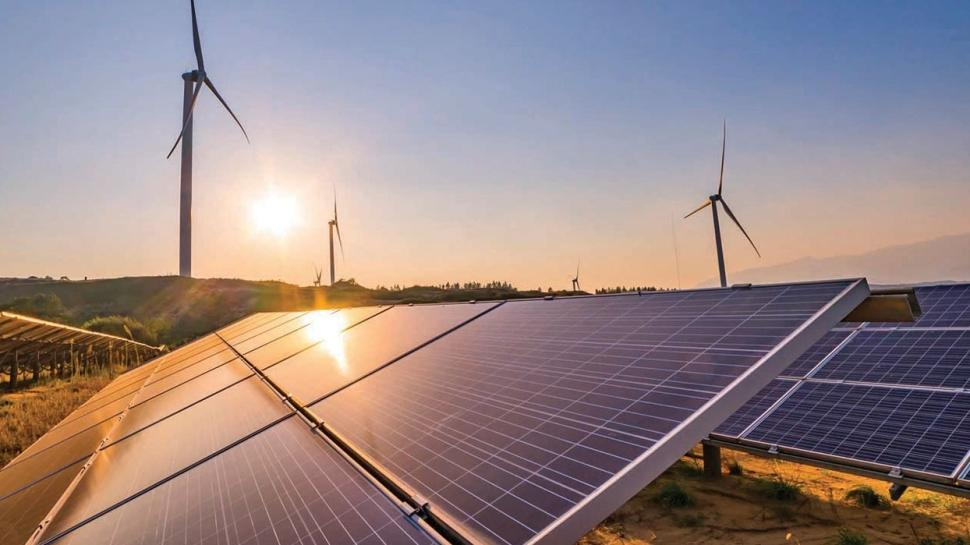 Elektriğin % 12.9'u rüzgar ve güneşten