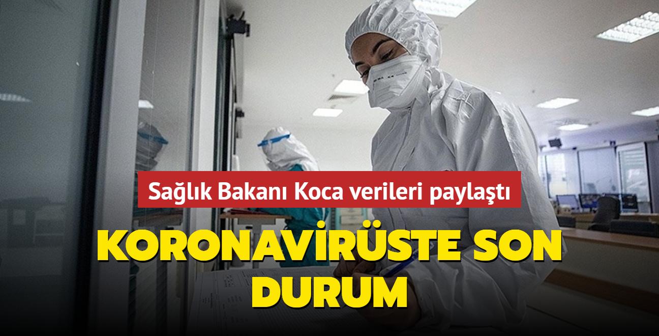 Sağlık Bakanı Koca, Kovid-19 salgınında son durumu açıkladı... İşte 29 Temmuz 2021 koronavirüs tablosu