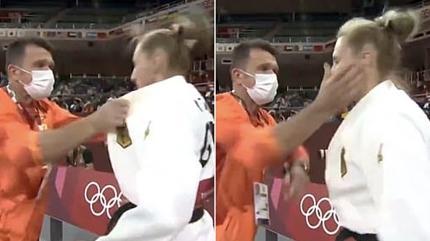 Olimpiyatlarda tartışma yaratan 'tokat' olayı