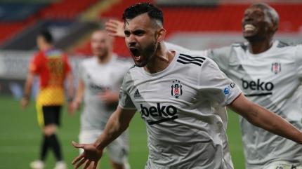 Son dakika Beşiktaş haberleri... Beşiktaş'tan Ghezzal'a opsiyonlu sözleşme